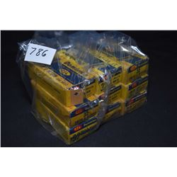 Eight 50-count boxes of CIL Dominion .32 Smith & Wesson collector ammunition, seven are full, one is