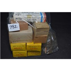 Large selection of 7.62 X 25mm ammunition including full 60 boxes of Norinco, full sealed 40 round b