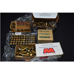 Selection of 45 ACP ammunition including a 42 count full collector box of Remington, a vintage Weste