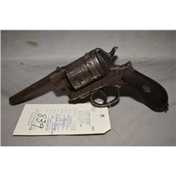 Antique - Gasser Model 1870 .11 MM Gasser Montenegrin Cal 6 Shot Revolver w/ 130 mm bbl [ flaking ni