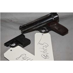 Lot of Two Items : Webley & Scott Model The Webley Senior Pellet PIstol [ needs work ] - German Made