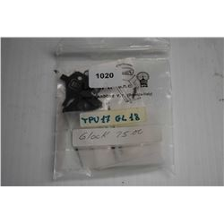 L.P.A. rear sight for Glock, part no. TPU 17 GL 18