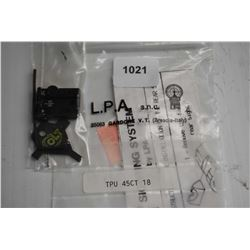 L.P.A. rear sight model TPU 45 CT 18