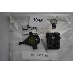 L.P.A. rear sight no. TPU 45CT 18