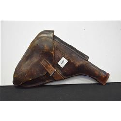 Luger flap holster with mag pouch