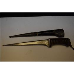 Iraque knife with scabbard