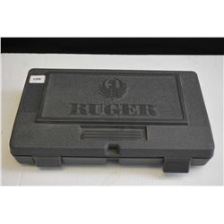 Original Ruger hand gun box for Vaquero or Visley containing Ruger grips, Ruger lock, QPR ejector ro