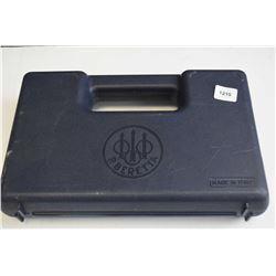 Original Beretta hard plastic pistol case including magazine