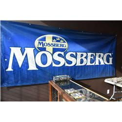 Large single sided Mossberg promotional banner