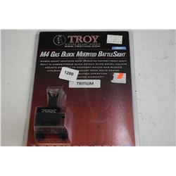 New in package Troy Battle Ready series M4 gas block mounted battle sight- black