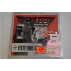 New in package Trijicon front and rear sights CA01 for Colt, Government etc.
