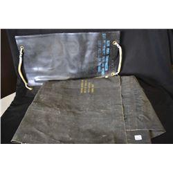 Pneumatic mattress and a potable water bag