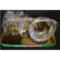 Selection of used brass including .45 ACP etc.