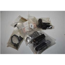 Selection of new in package Viking Tactic accessories including two railess sling swivel mounts, amb
