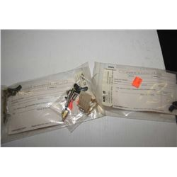 Three new in package Glock trigger kits each including triggers, pins, springs etc. model 19, model