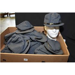 Selection of RCAF winter wool caps