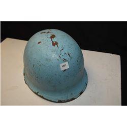 Robins egg blue coloured helmet outer shell