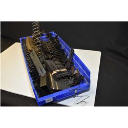 Selection of magazine parts, springs, housings etc