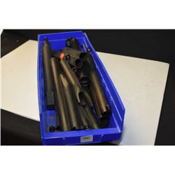 Selection of new and used accessories including stock tubes etc.