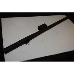 """Mossberg 24"""" .12 gauge rifled barrel for 2 3/4"""", 3"""" and 3 1/2"""" shells, adjustable rear sight, missin"""