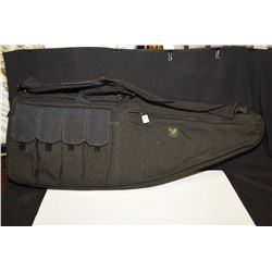 Soft rifle case with mag pouches made by Eagle USA