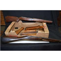 Selection of gun stocks