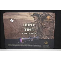 """Leupold """"Every Hunt, Every Time"""" counter top protector"""