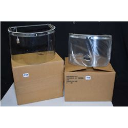 Set of two brand new Riot Control face shields made by Bullard, part no. S1757C
