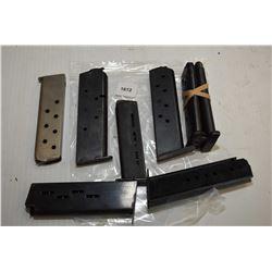 Eight pistol mags