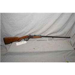 J.P. Sauer & Sohn Tellbuchse V hinge break single shot rifle w/ 26 3/4  bbl. [ top rail marked TEL V