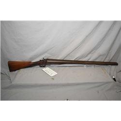 """James & Reynolds side X side 12 gauge hinge break shotgun w/ 30"""" bbl. [ Damask barrel barrel with si"""