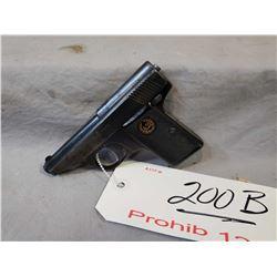 Lilliput ( Menz ) Model 1927 6.35 MM Cal 6 Shot Semi Auto Pistol w/ 51 mm bbl [ fading blue