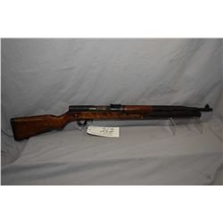 UPDATED DESCRIPTION CZ Model VZ 52 dated 55 7.62 x 45 Cal Full Wood Mag Fed Semi Auto