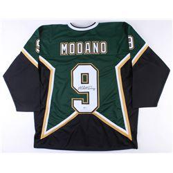 reputable site 3c83d f63dd Mike Modano Signed Dallas Stars Captain Jersey (Beckett COA)