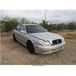 2003 - HYUNDAI SONATA//RESTORED SALVAGE