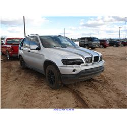 2001 - BMW X5//RESTORED SALVAGE
