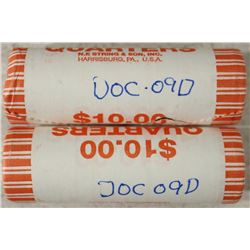 2-$10 ROLLS OF 2009-D DISTRICT OF COLUMBIA