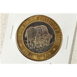 CASINO $10 SILVER TOKEN (UNC) 1996 GRAND CASINO