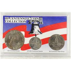 BICENTENNIAL COIN COLLECTION AS SHOWN