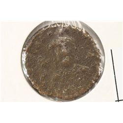 867-886 A.D. CROWNED BASIL I BYZANTINE EMPIRE COIN