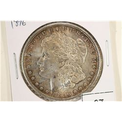 1896 MORGAN SILVER DOLLAR AU++