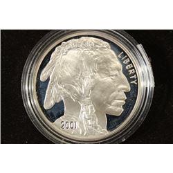 2001-P AMERICAN BUFFALO PROOF SILVER DOLLAR
