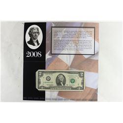 2008 DALLAS $2 SINGLE NOTE 2003-A FRN SERIAL