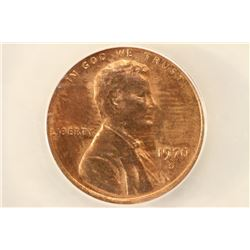 1970-S LARGE DATE LINCOLN CENT ANACS MS63RB