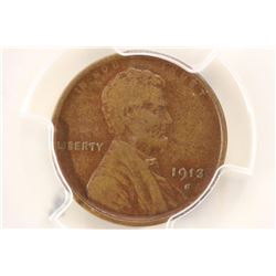 1913-S LINCOLN CENT  (SEMI-KEY) PCGS VERY FINE 30