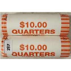 2-$10 ROLLS OF 2009-P NORTHERN MARINA ISLANDS