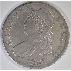 1827/6 CAPPED BUST HALF DOLLAR  XF