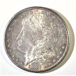1881 S MORGAN DOLLAR  GEM BU