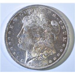 1885 O MORGAN DOLLAR GEM BU