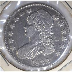 1832 BUST HALF VF/XF